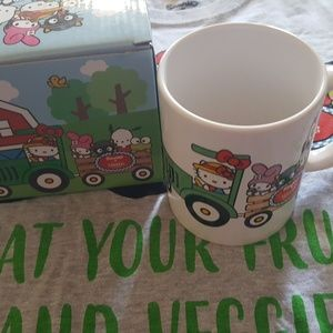 Hello kitty tanaka farm mug
